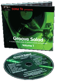 GrooveSalad CD Mit Cover