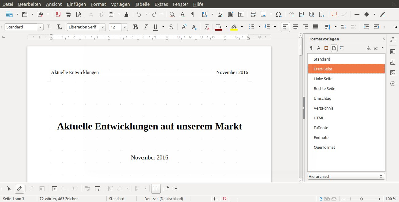 Libreoffice Tipps Linuxcommunity
